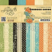 Artisan Style - 6x6 Patterns & Solids Paper Pad
