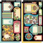 Bohemian Bazaar Tags & Pockets