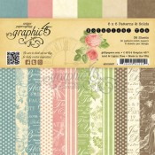 Botanical Tea - 6x6 Patterns & Solids Paper Pad