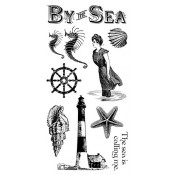 By the Sea - Cling Stamp 1