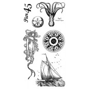 By the Sea - Cling Stamp 2