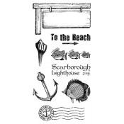 By the Sea - Cling Stamp 3