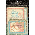 "Come Away with Me - 4x6"" and 3x4"" Journaling & Ephemera Cards"