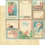 Come Away With Me Collection - Vintage Voyage 12x12 Paper