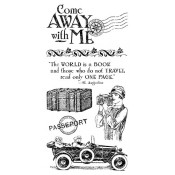 Come Away with Me - Cling Stamp 1