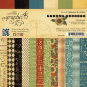 French Counrty 6x6 Patterns & Solids Paper Pad