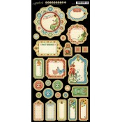 Home Sweet Home - Journaling Chipboard (Tags 1)