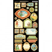 Mother Goose  - Chipboard Tags 2