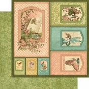 Once Upon A Springtime - Frames 12x12 Paper