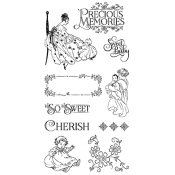 Precious Memories - Cling Stamp 1