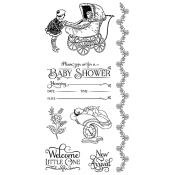 Precious Memories - Cling Stamp 2