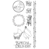 Precious Memories - Cling Stamp 3