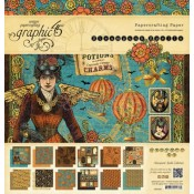 (Pre-order) Steampunk Spell 8x8 Paper Pad