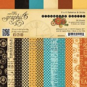 (Pre-order) Steampunk Spell 6x6 Patterns & Solids Paper Pad
