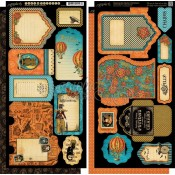 (Pre-order) Steampunk Spells Tags & Pockets