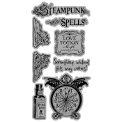 (Pre-order) Steampunk Spell - Cling Stamp 1