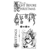 Twas the Night Before Christmas - Cling Stamp 1