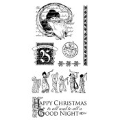 Twas the Night Before Christmas - Cling Stamp 2