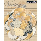 Vintage Finds Paper Flowers