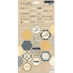 Vintage Finds Cardstock Stickers - 2