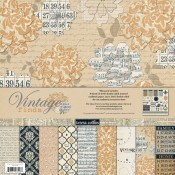 Vintage Finds 12x12 Paper Kit