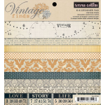 Vintage Finds 6x6 Paper Pad