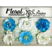 Roses Collection Marine Blue (Turquoise)