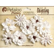 Darjeeling - Medium - Wild Blossoms - White
