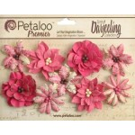 Darjeeling - Medium - Wild Blossoms - Fuchsia