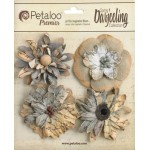 Darjeeling - Large Wild Blossoms - Soft Grey