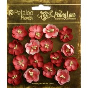 Penny Lane - Forget Me Nots - Antique Red