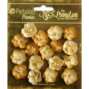 Penny Lane - Forget Me Nots - Antique Gold