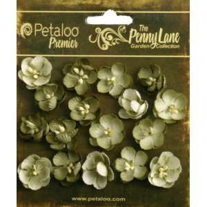Penny Lane - Forget Me Nots - Antique Green