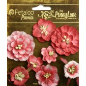 Penny Lane - Mixed Blossoms - Antique Red