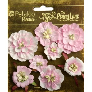 Penny Lane - Mixed Blossoms - Soft Pink