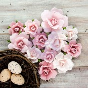 (Pre-Order) Isabella Mulberry Paper Flowers - Vidette