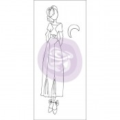 (Pre-Order) Mixed Media Doll Cling Stamp - Jeanne