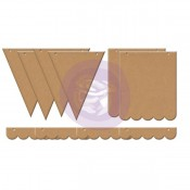 (Pre-Order) Mixed Media Chipboard Banner