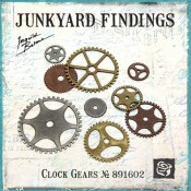 Junkyard Findings Clock Gears