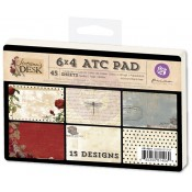 "Stationer's Desk - 4"" x 6"" ATC Pad"