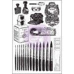 "(Pre-Order) The Archivist Cling Stamps 4""X6"" Set"
