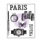 "(Pre-Order) The Archivist Clear Stamps 2.5""X3"" - Paris"