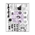 "(Pre-Order) The Archivist Clear Stamps 2.5""X3"" - Newsprint"