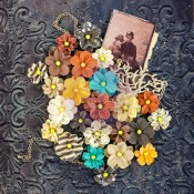 (Pre-Order) Timeless Memories Mullbery Paper Flowers - Remembrance
