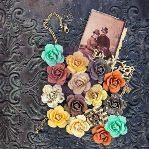 (Pre-Order) Timeless Memories Mullbery Paper Flowers - Reflection