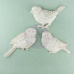 Shabby Chic Resin Treasures Small Birds