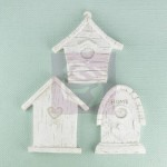 Shabby Chic Resin Treasures Bird Homes