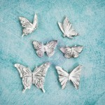 Shabby Chic Resin Treasures - Butterfly