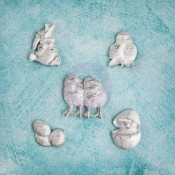 Shabby Chic Resin Treasures - Easter
