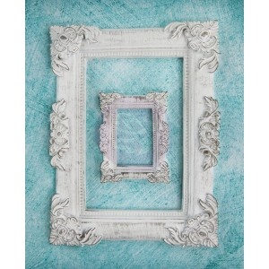 Shabby Chic Resin Treasures - Baroque Frame